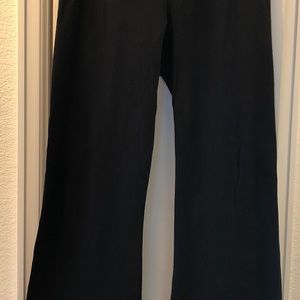 Lululemon Groove Down Pant-Reversible Black/Purple